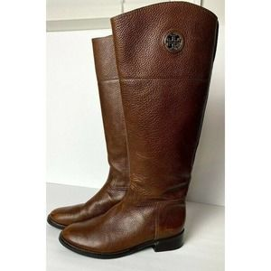 Tory Burch Boots 7 Junction Brown Knee High Riding